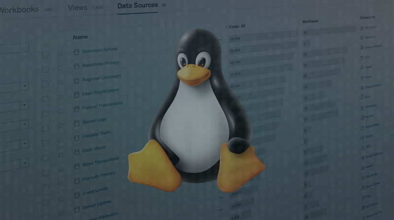 Linux for Tableau beta