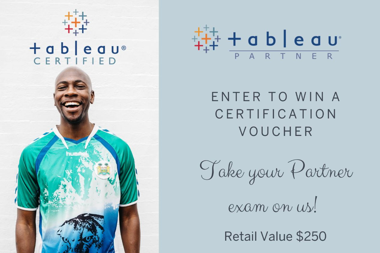 Americas Tableau Partner Network Certification Challenge InfoGraphic