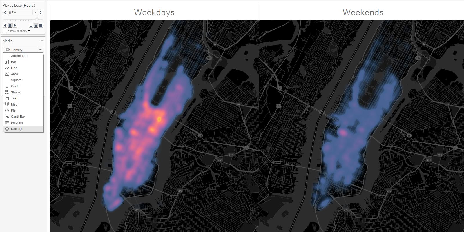 Heatmaps, Set-Aktionen, neue Dashboard-Formate und vieles mehr ...