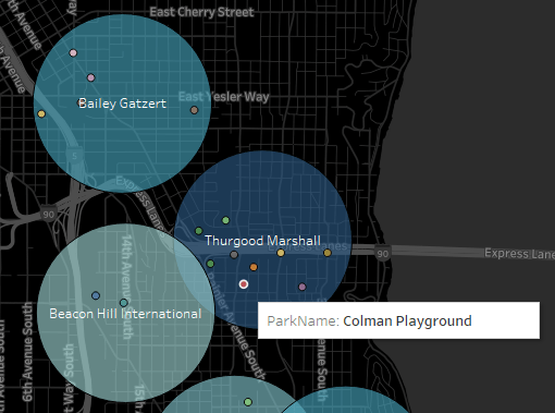 Visualize spatial data directly from SQL Server in Tableau 2018 1