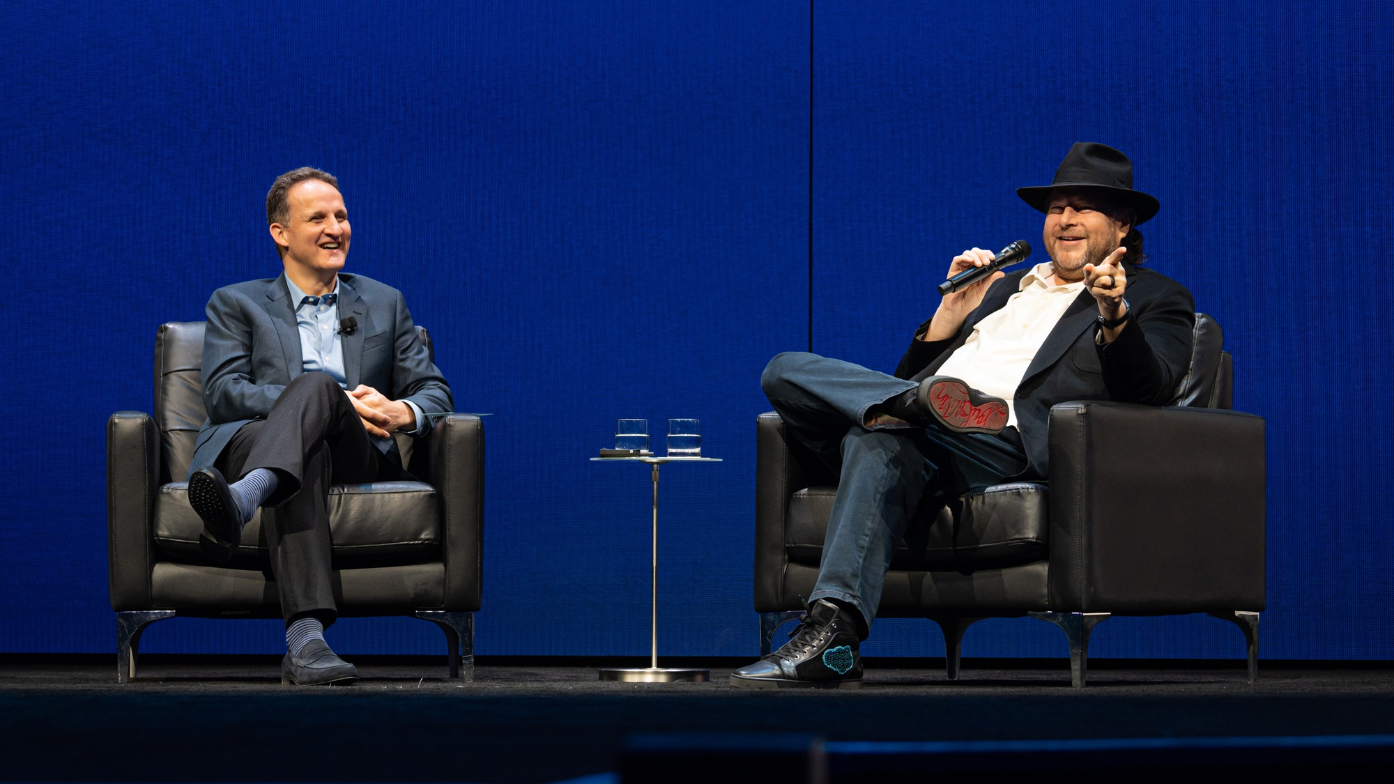 Adam Selipsky and Marc Benioff discuss the future of Tableau at TC19