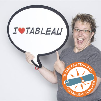 Cathy Bridges: Tableau TEN-ured for 5 Years