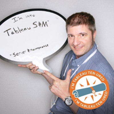 Toby Erkson: Tableau TEN-ured for 6½ Years