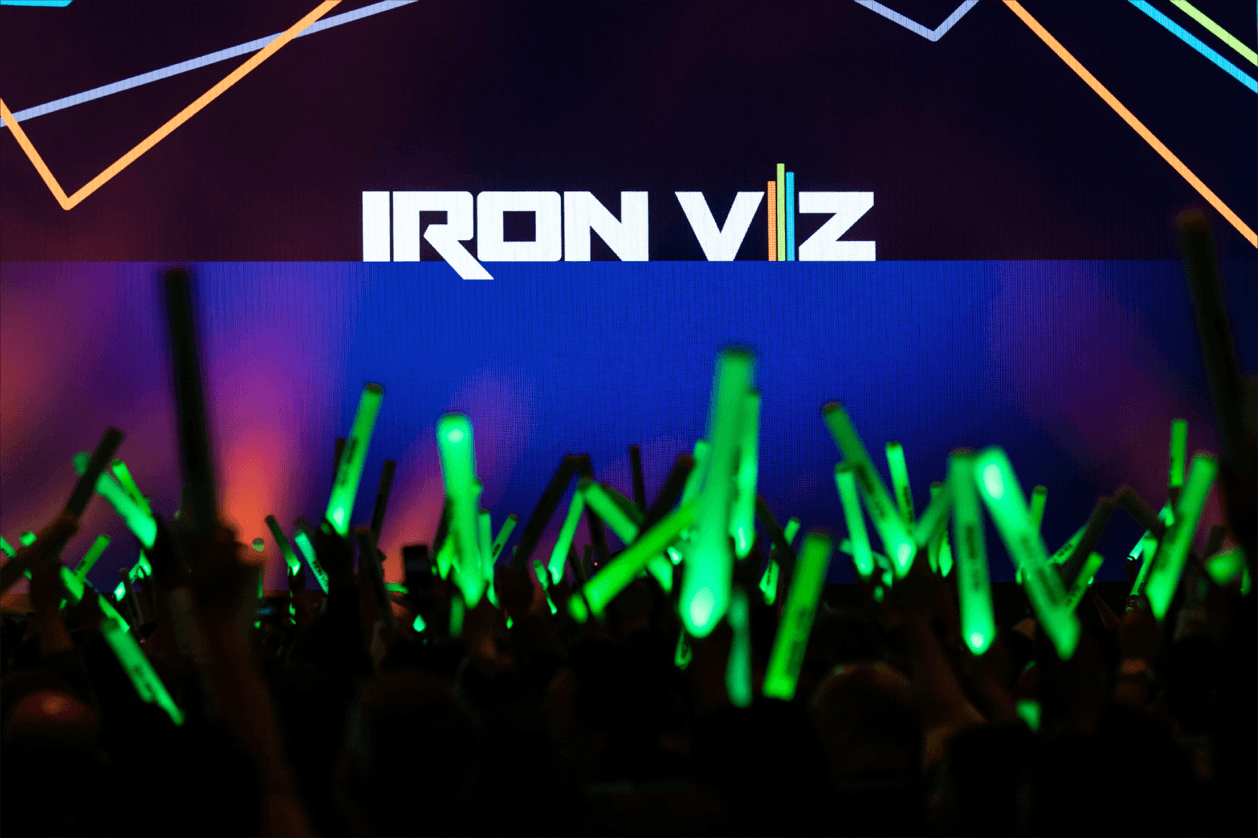 Iron Viz competition at Tableau Conference 2018
