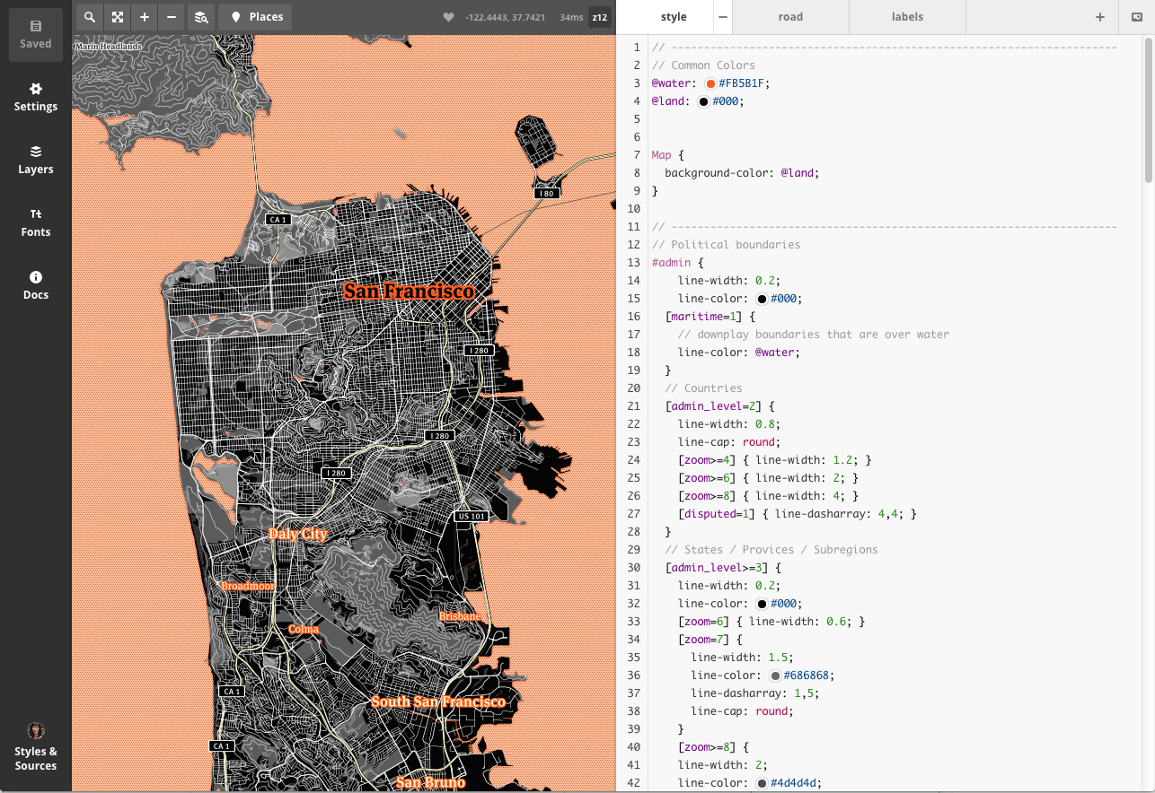 How to Make (and Save!) a Custom Mapbox Map for Your Viz | Tableau