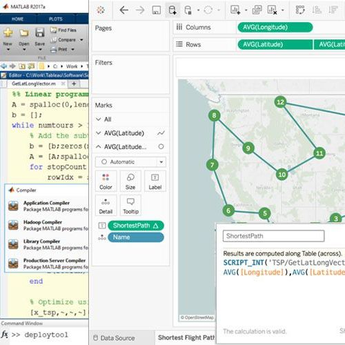 Put your MATLAB models and algorithms to work in Tableau