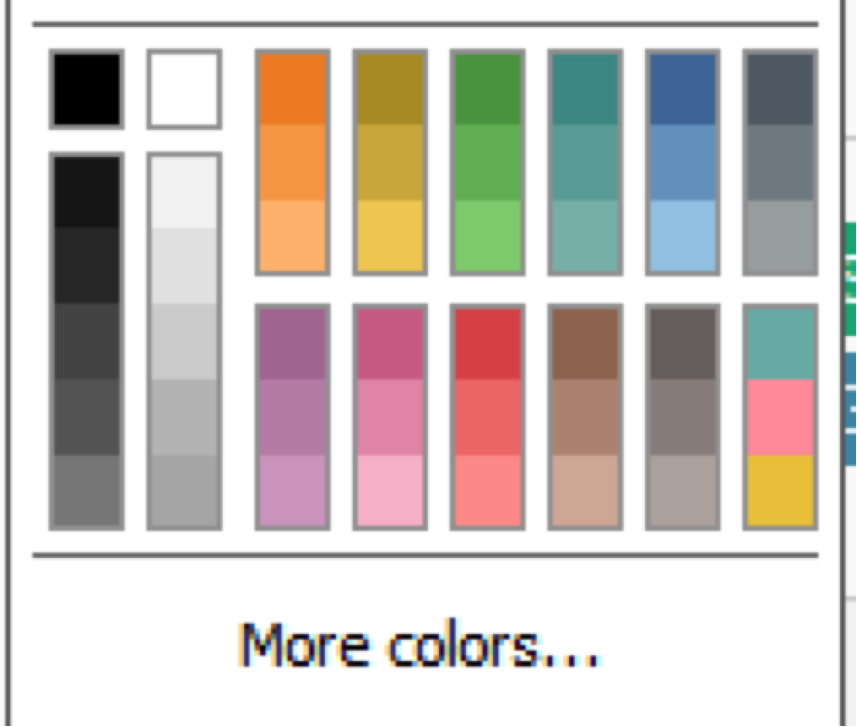 how we designed the new color palettes in tableau 10 color palettes in tableau 10