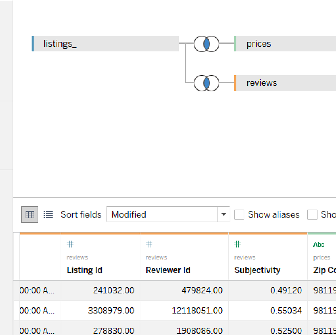 Integrate your data with cross-database joins in Tableau 10
