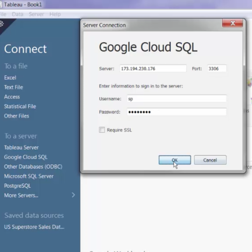 Tableau now connects directly to Google Cloud SQL | Tableau