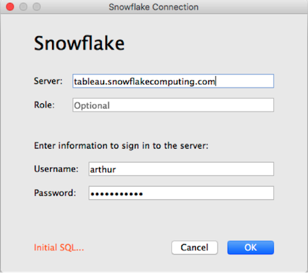 Introducing the Snowflake connector in Tableau 9 3 | Tableau Software