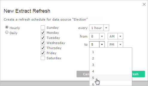tableau online tips how to sync on premises data in tableau online