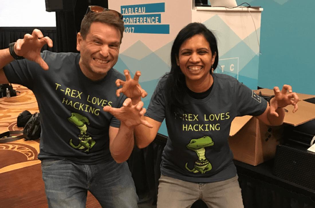 Developers at the TC18 Hackathon