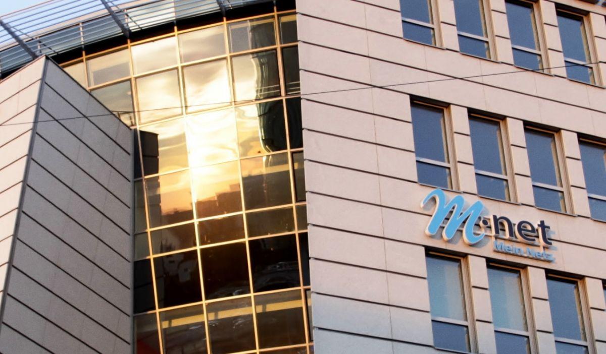M-net headquarters in Munich