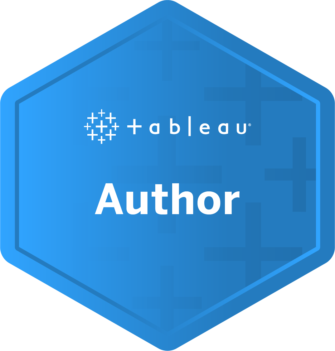 Author badge