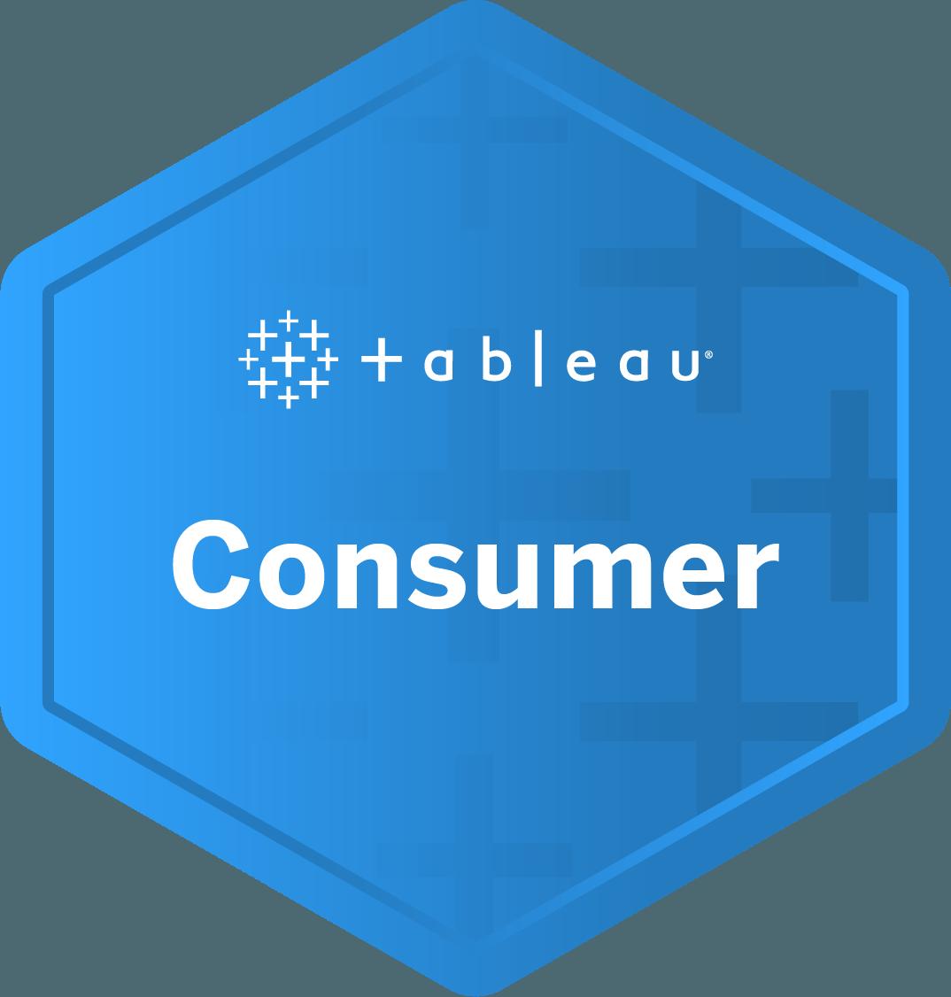 Consumer badge