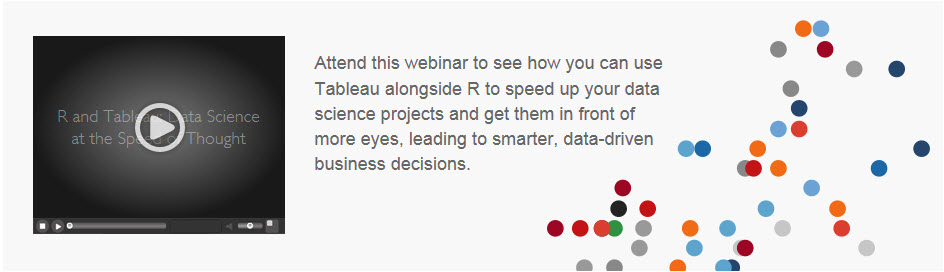 R and Tableau: Data Science at the Speed of Thought
