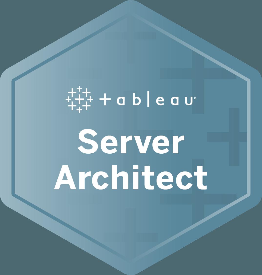 Server Architect badge