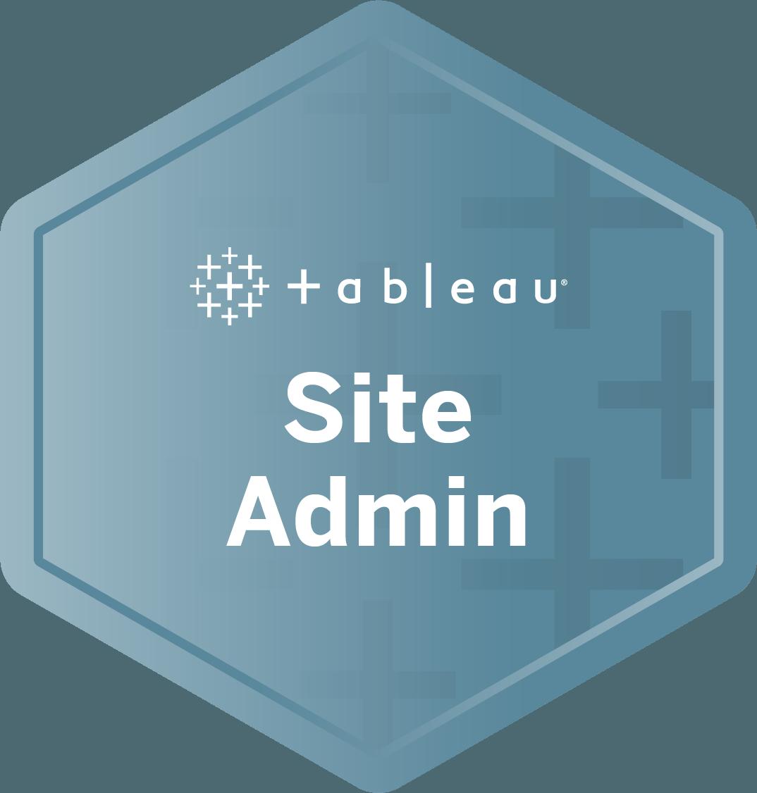 Site Admin badge