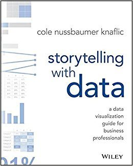 Storytelling With Data - A Data Visualization Guide for Business Professionals by Cole Nussbaumer Knaflic