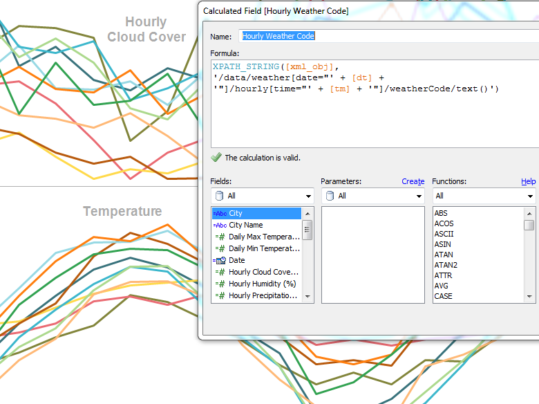Work with a variety of data, including XML | Tableau Software