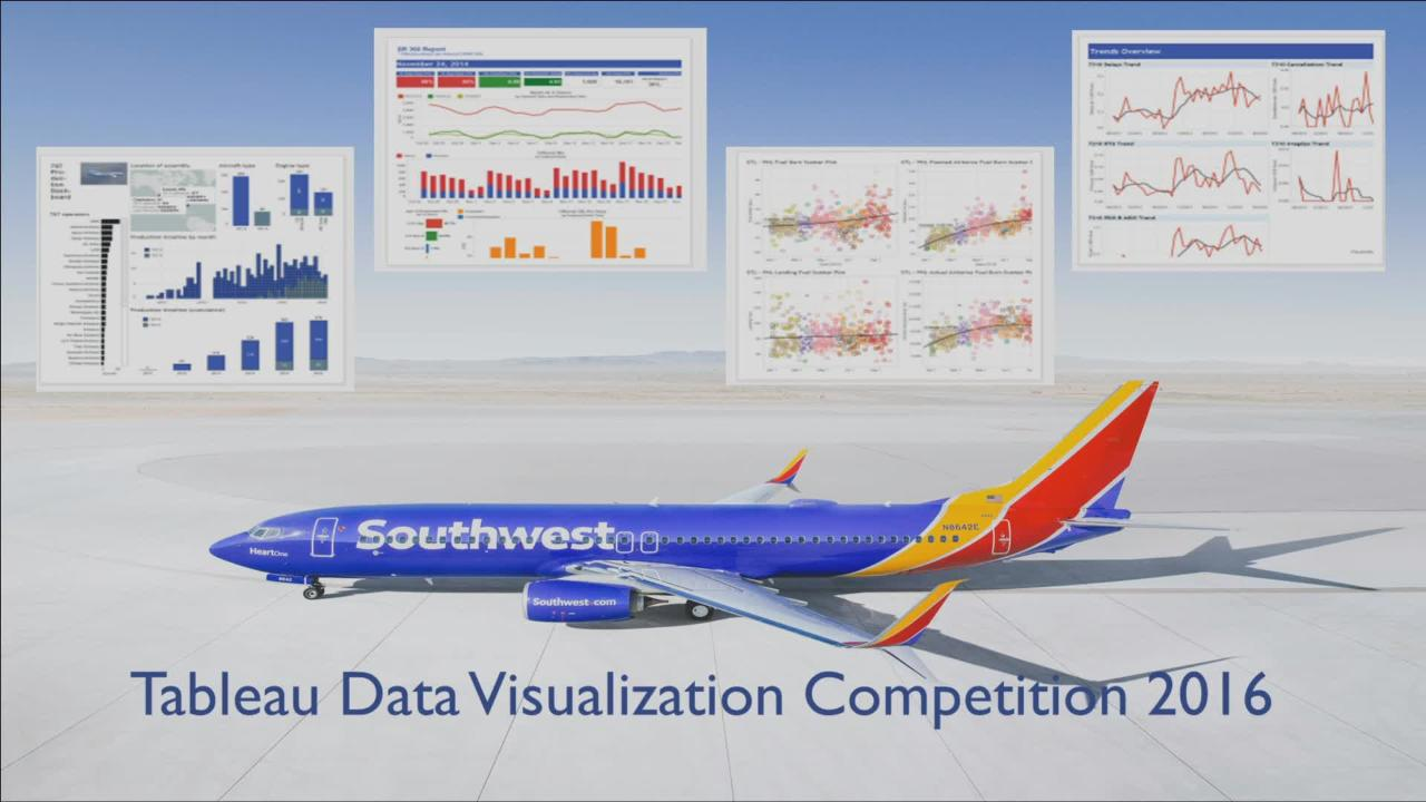 Travel & Transportation Analytics with Tableau