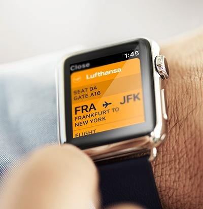 Lufthansa new logo