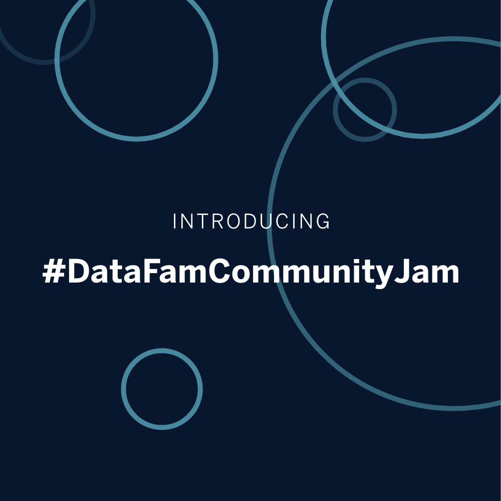 Data Fam Community Jam