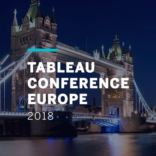 Events Tableau Conference Europe 2018
